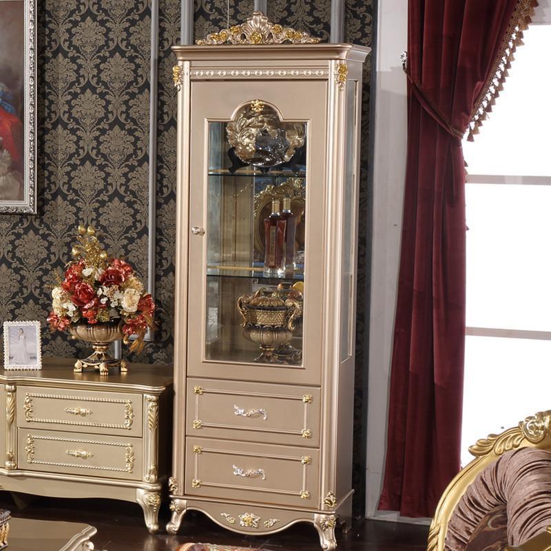 【法丽莎家居】法丽莎家具y1欧式贵族酒柜实木单双门
