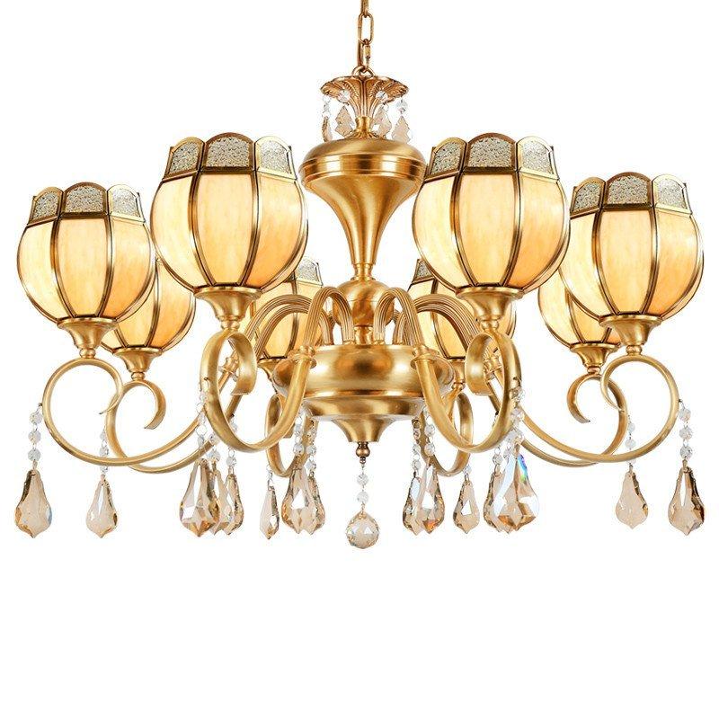 欧式铜灯客厅灯