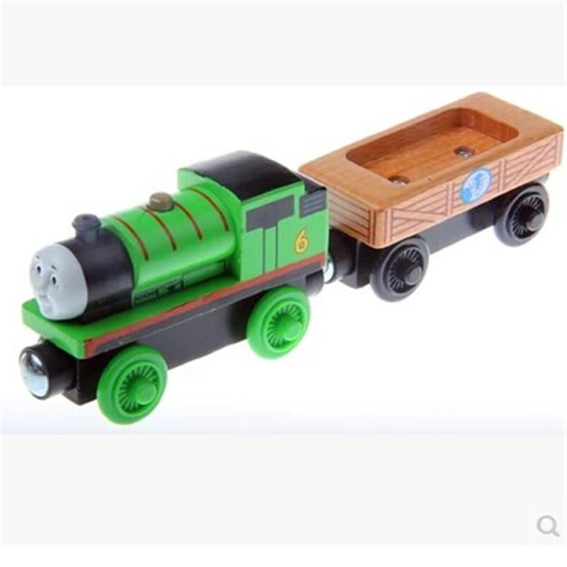 木制托马斯磁性小火车