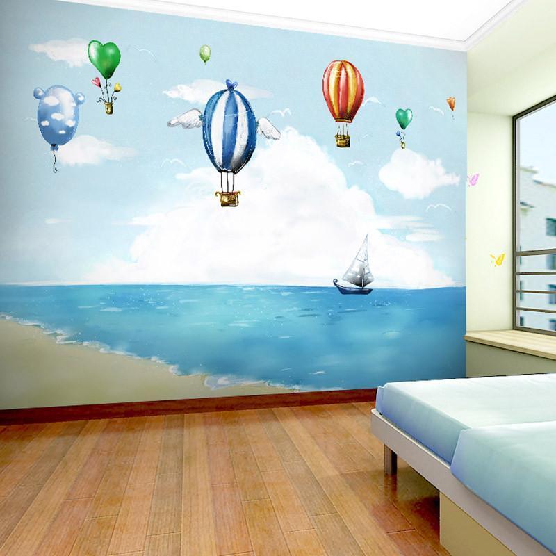 米素壁画 卧室客厅电视背景墙影视墙 梦想 草编