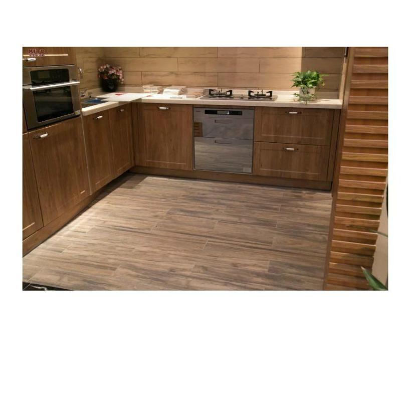 加州水曲木纹砖地板砖墙地瓷砖客厅地砖k915888ma