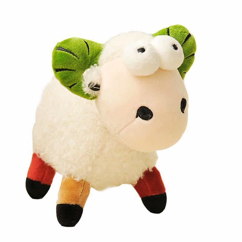 绒言绒语可爱羊年吉祥物羊太吉毛绒玩具公仔吉祥羊小