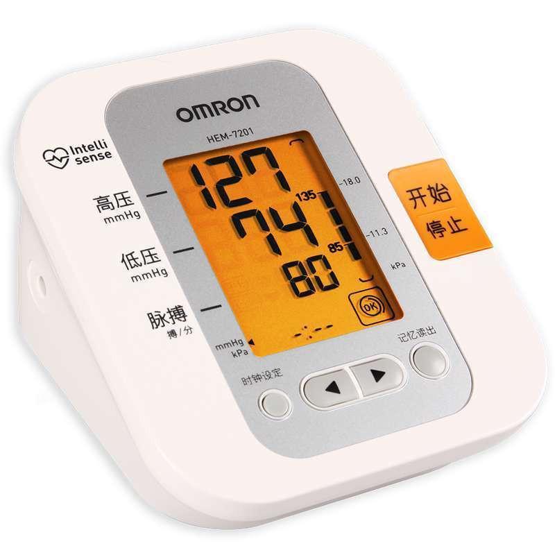 欧姆龙 智能电子血压计 hem-7201