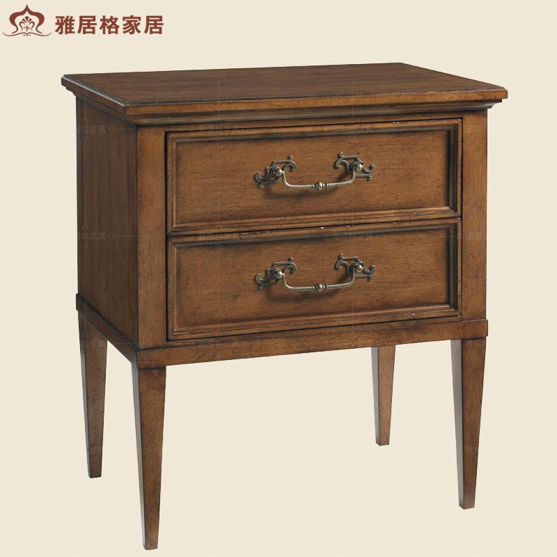 格欧式家具床头柜