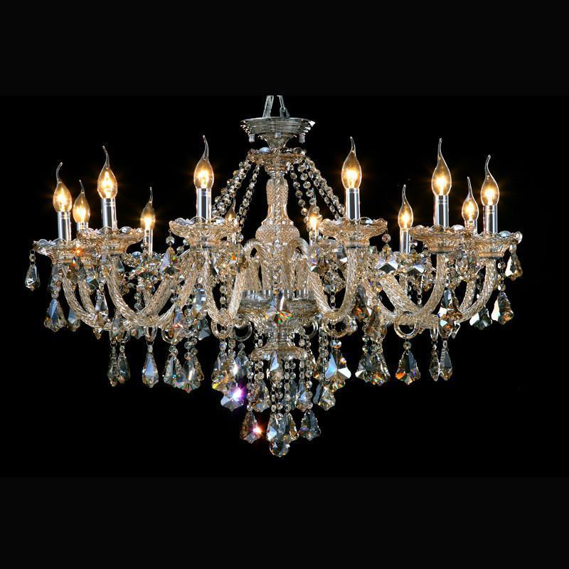 欧式水晶吸顶灯 别墅餐厅客厅卧室书房水晶灯吊灯具