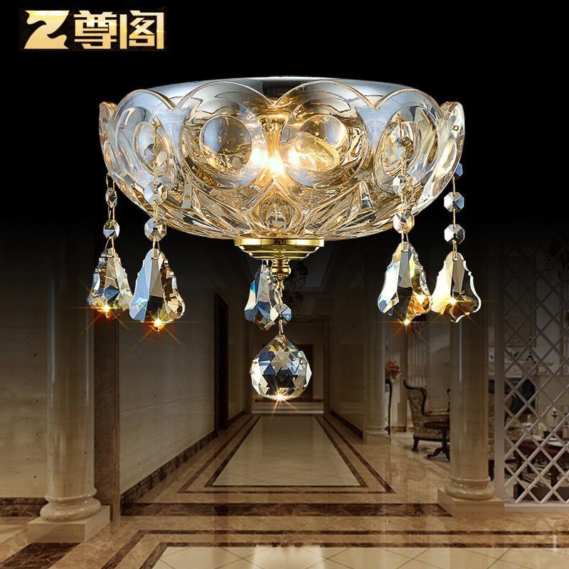 【尊阁家居】尊阁欧式灯具圆形水晶灯饰