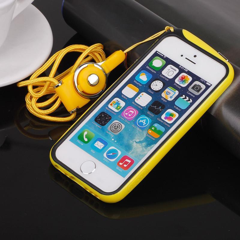 苹果4s挂脖手机壳