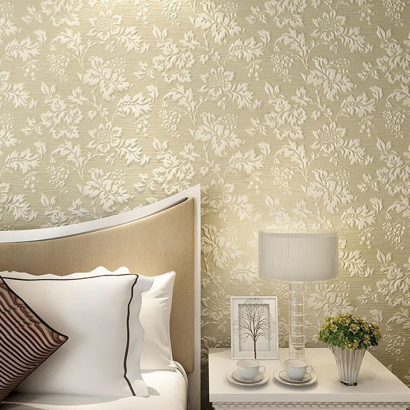 米素欧式墙纸 卧室客厅沙发背景墙壁纸