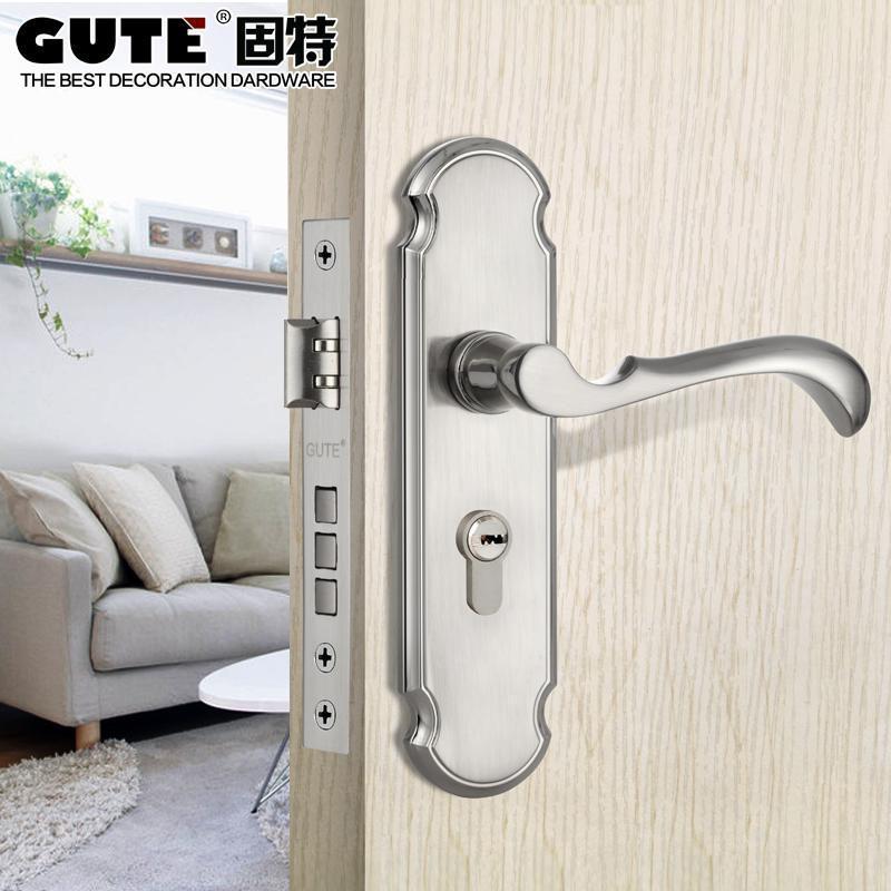 欧式门锁室内卧室房门锁卫生间