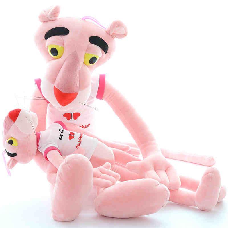超大布娃娃粉红豹公仔毛绒玩具正版粉红顽皮豹可爱男女孩生日礼物p 红