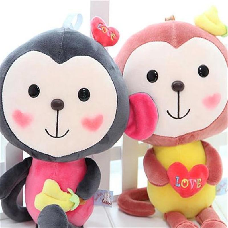 可爱大嘴猴毛绒玩具悠嘻猴公仔压床布娃娃创意情人节