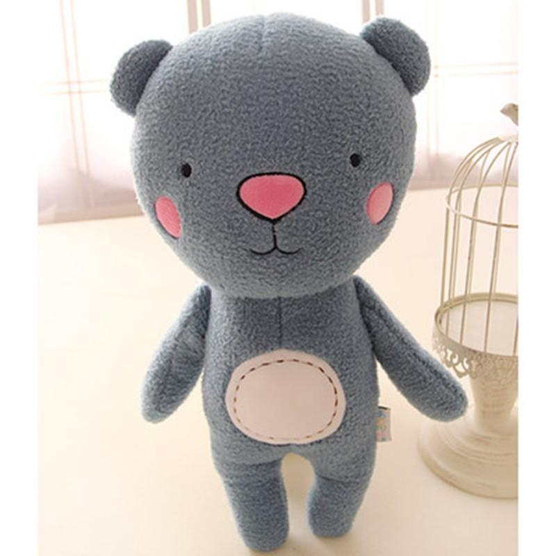 正品韩国卡通大象猴子熊毛绒玩具森林动物公仔布娃娃儿童玩偶礼物