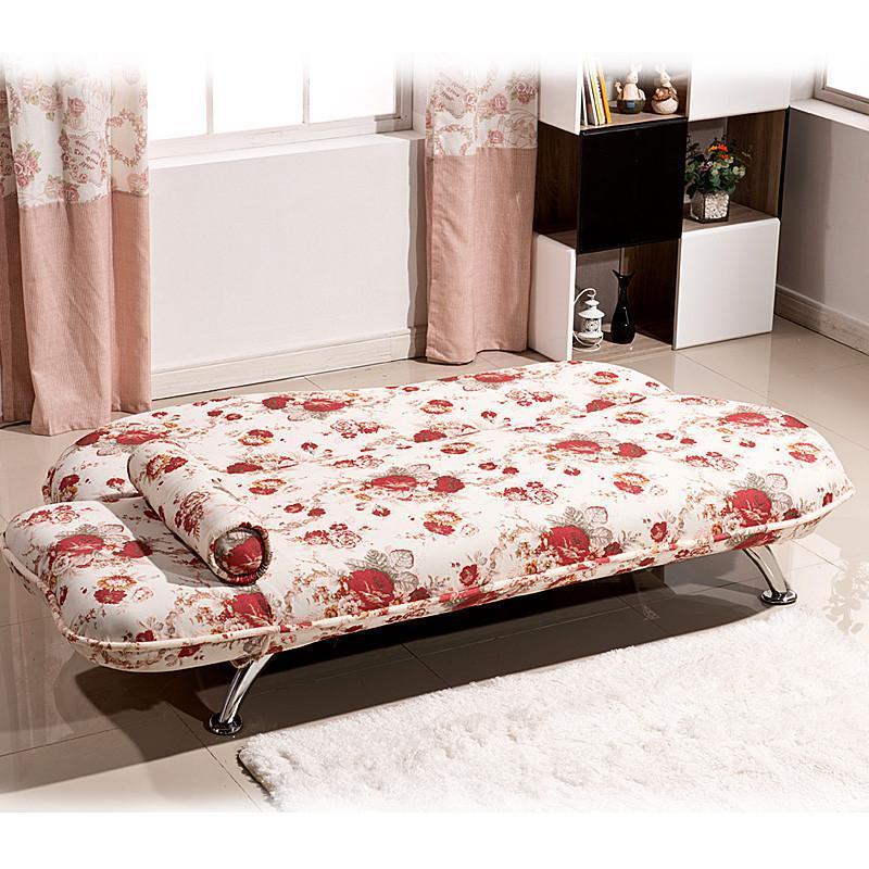 【理佳家居】理佳多功能阳台布艺折叠沙发床贵妃椅