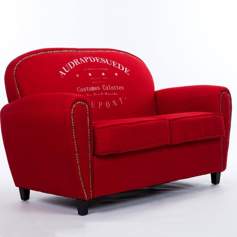 仿欧式复古沙发 客厅单人位沙发