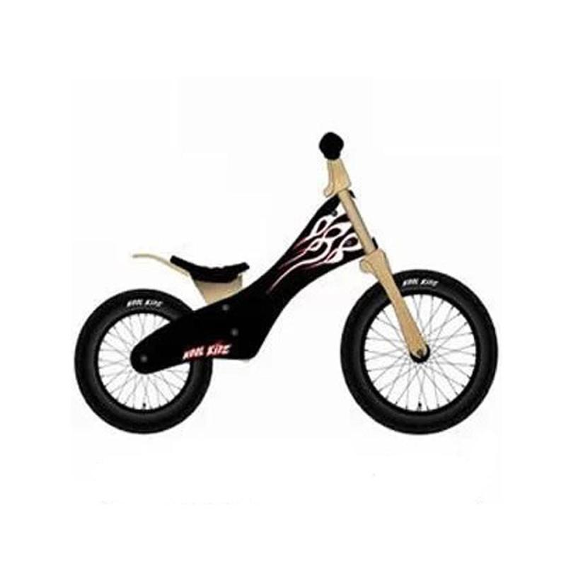 kidz木质儿童平衡车自行车山地车实木头