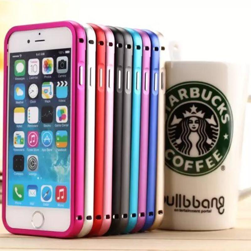 苹果6 iphone6 plus手机壳金属边框保护壳套