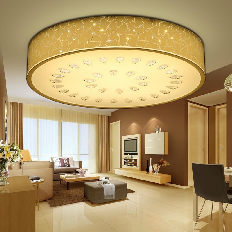 【臻承】吸顶灯卧室灯圆形温馨浪漫现代简约led客厅