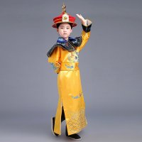 时光叙 装龙袍皇帝服装 清朝皇帝服装 皇阿玛 古装皇后服装 演出服图片