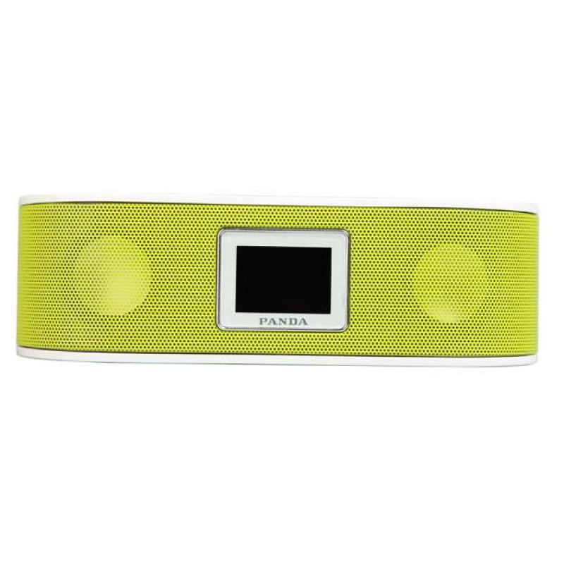 熊猫数码音响播放器DS-140 绿 插卡音箱 立体声收音机