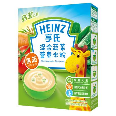 亨氏混合蔬菜营养米粉225g
