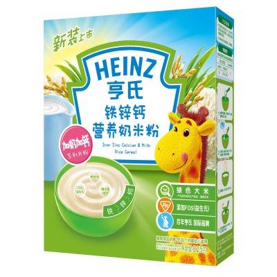 Heinz亨氏铁锌钙营养奶米粉225g