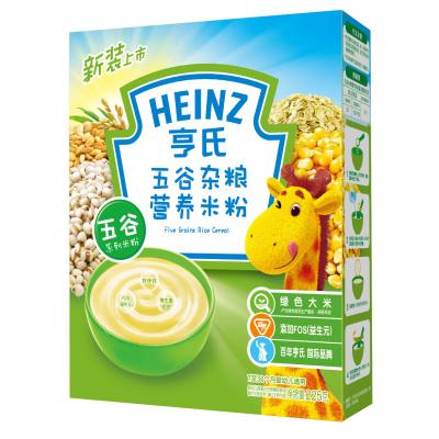 亨氏五谷杂粮营养米粉225g