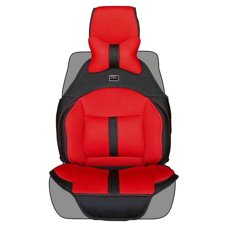 wrc汽车坐垫 人体工程学结构设计 四季通用汽车座垫 w002红色