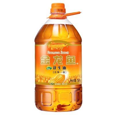 金龙鱼 特香花生油 5L