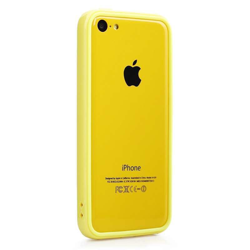 x-doria苹果new iphone幻彩边框保护套悦目黄