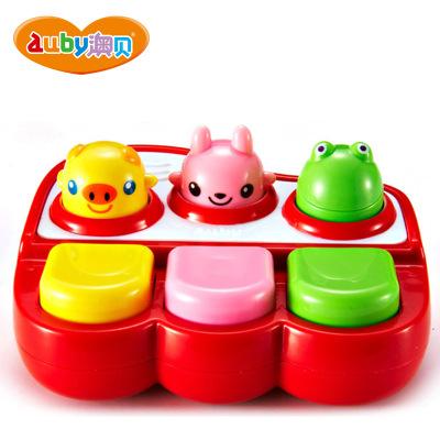 AUBY 澳贝 启智系列 小小音乐家 6-12个月 电子/电动塑料玩具 非充电 463409DS