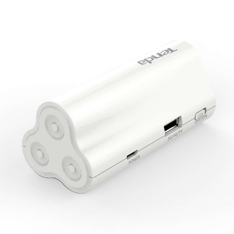 腾达 300M 便携式3G/4G无线路由器 2600mAh移动电源 4G300