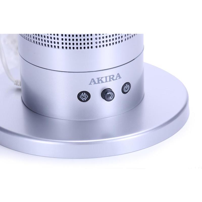 爱家乐(AKIRA)AX100/SG电风扇 10寸无叶风扇 家用环保空气循环扇 落地扇台式风扇蓝色
