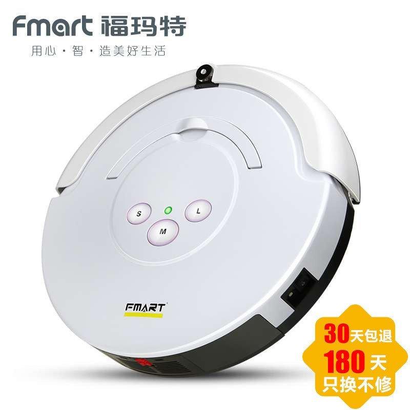 福玛特(FMART) FM-006S 智能扫地机器人吸尘器(白色)
