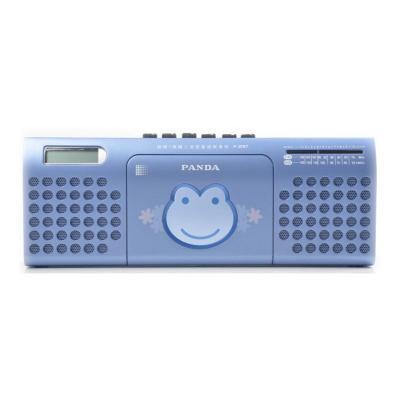 熊猫(PANDA) F-237 蓝色 英语磁带语言复读学习机收音录音机240秒复读双喇叭播放器