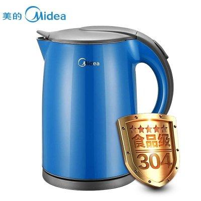 7l 双层防烫 食品级304不锈钢 防尘设计 电热水瓶 电水壶 蓝色