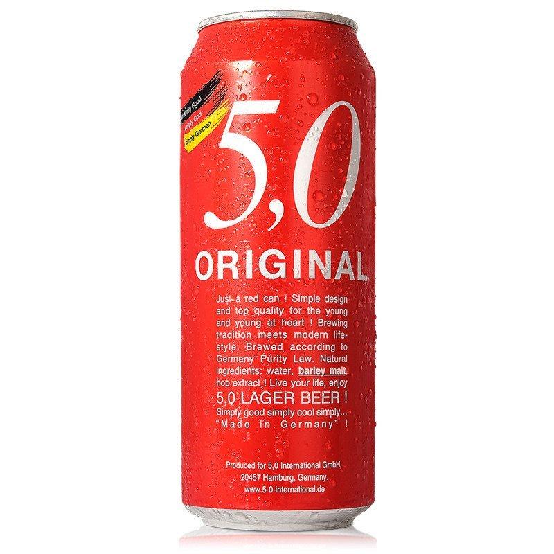 5.0窖藏啤酒500ml *6