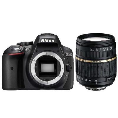 尼康 数码单反相机 D5300搭配腾龙AF18-200mm 镜头套机+16G卡+包+清洁套装+UV镜