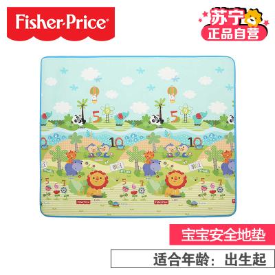 【蘇寧自營】Fisher Price 費雪靜態塑膠玩具/嬰兒爬行墊BMF22