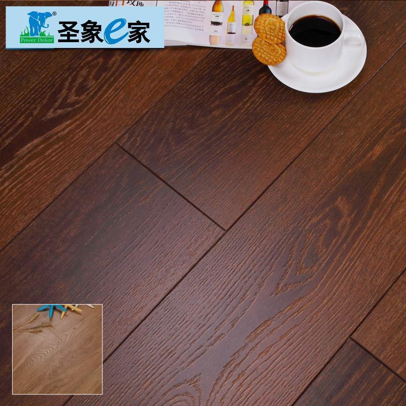 圣象e家强化复合木地板幻雪国度/霞光之城同步压纹高低光v槽 nf1702
