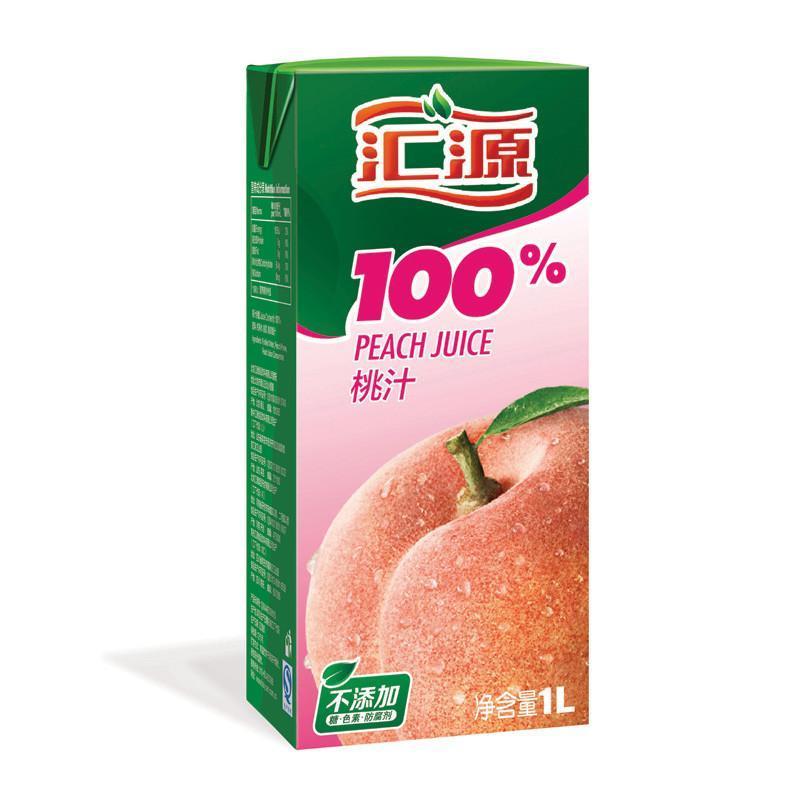 汇源果汁官网_【苏宁超市】汇源 100%桃复合果汁 1l/盒