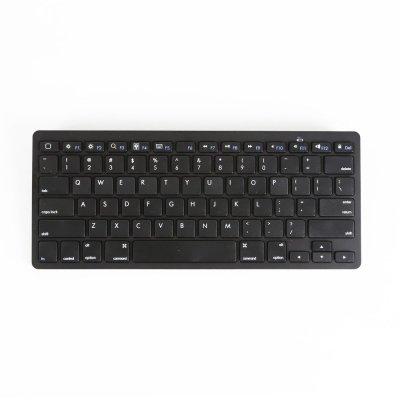 吉选(gesobyte) BK78 超薄蓝牙键盘 黑