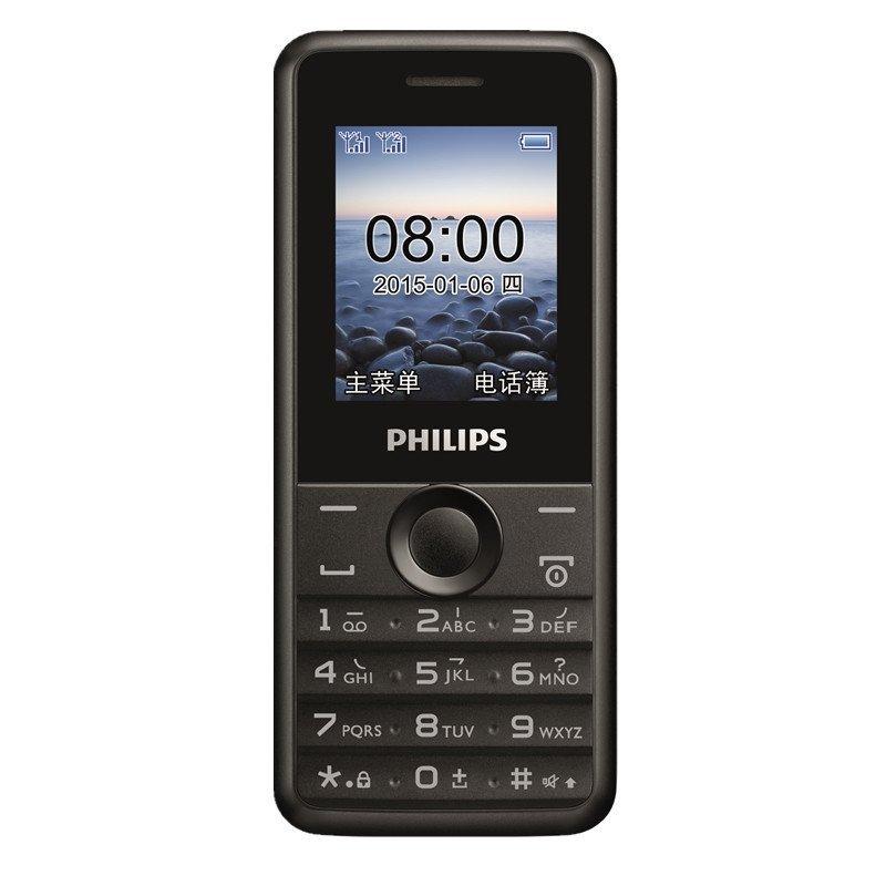 飞利浦手机 E103(陨石黑)