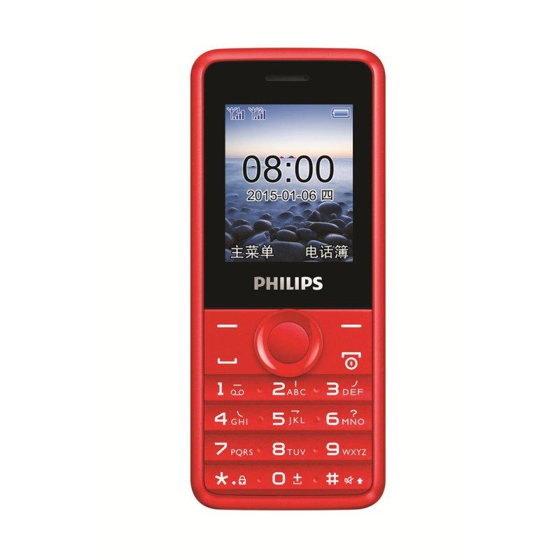 飞利浦手机 E103(炫舞红)
