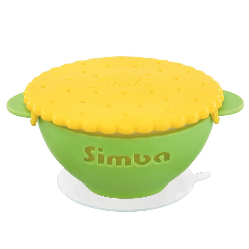 小狮王辛巴(simba)婴儿宝宝碗勺子套装可爱卡通辅食碗