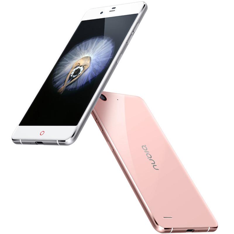 努比亚(nubia)布拉格S NX513J 移动联通电信4G手机 玫瑰金 3+64G 双卡双待