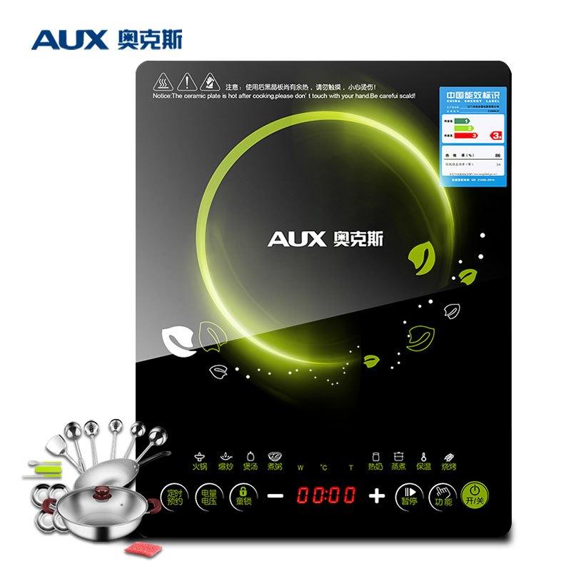 AUX/奥克斯 C2005LD 智能触控超薄电磁炉 防水可预约电磁炉