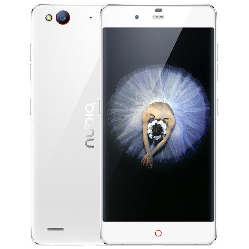 努比亚(nubia)My布拉格S NX513H 移动联通4G手机 皓月银 3+64G 双卡双待
