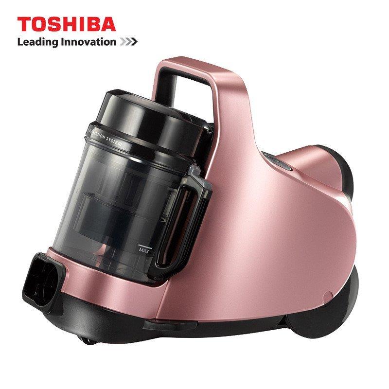 东芝(TOSHIBA) 吸尘器VC-GC32EC 旋风智能静音家用大吸力吸尘器小巧精致