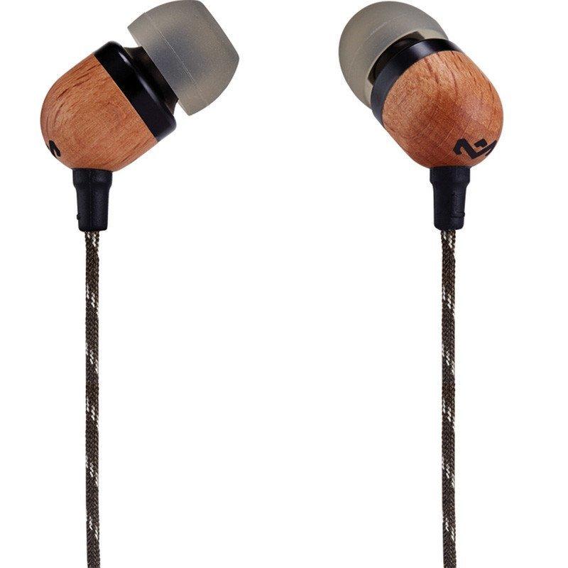 MARLEY SMILE JAMAICA入耳式耳机EM-JE041-TN 棕褐色
