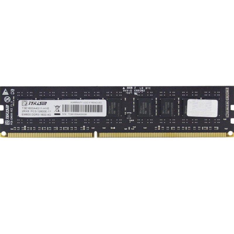 特科芯TEKISM EM600 DDR3 1600MHz 4GB ECC 服务器内存条